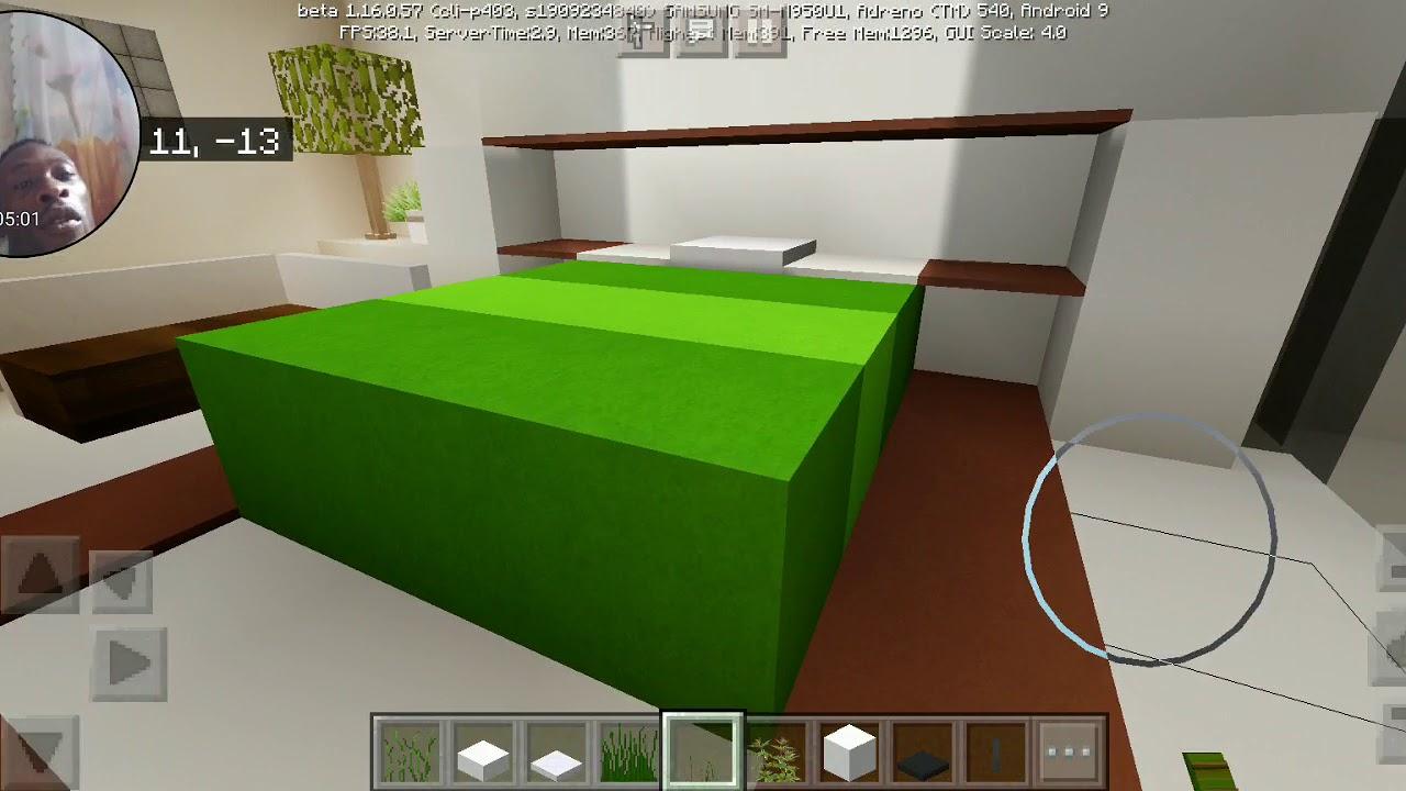 Minecraft modern mansion part 2 (interior) YouTube