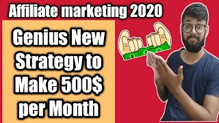 AWsomely genius strategy to do Affiliate marketing in 2020 100$ a day
