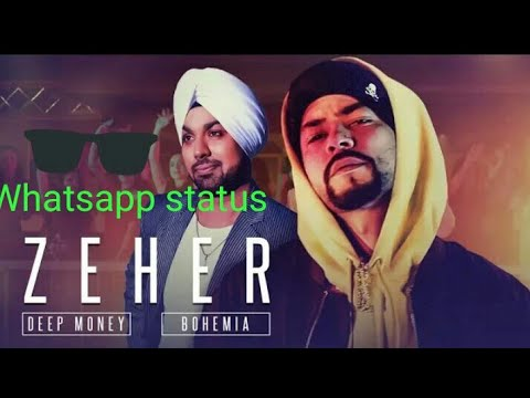 Daru thodi thodi piya karo whatsapp status | Deep money New whatsapp status | Zeher whatsapp status