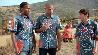 PEPSI'S NEW 2010 FOOTBALL ADVERT FT AKON'S 'OH AFRICA' (60 SECOND VERSION)