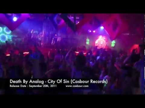 Death By Analog - City Of Sin (Casbour Records)