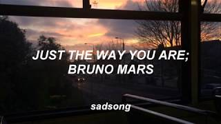 Just The Way You Are - Bruno Mars (Traducida al Español)