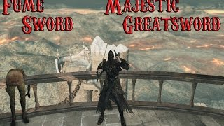 Dark Souls 2 PvP - Fume Sword/Majestic Greatsword (DLC Build)