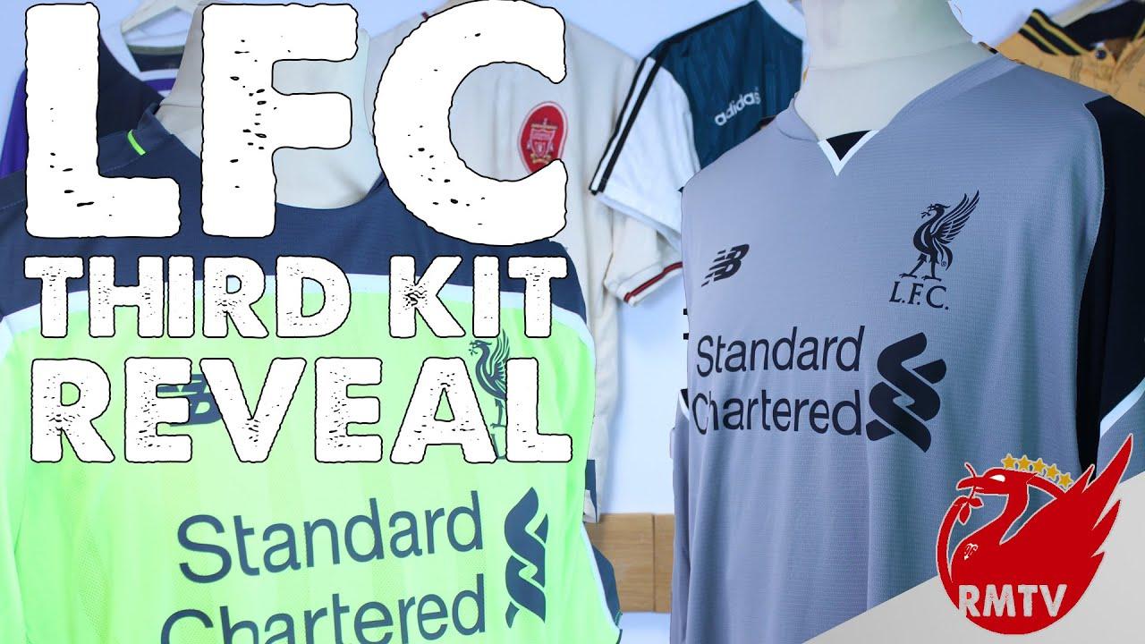 LFC Third Kit Reveal  195f602dc