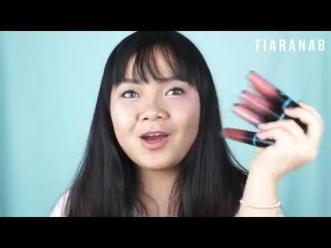Ql Cosmetics Review Lip Cream Matte Nude Series Tiaranab Youtube