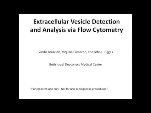 Vasilis Toxavidis, John Tigges - Extracellular Vesicle Detection and Analysis via Flow Cytometry