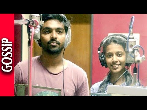 GV Prakash Singing Unnai Vittaa Yaarumillai Song - Kollywood Latest Gossip 2017