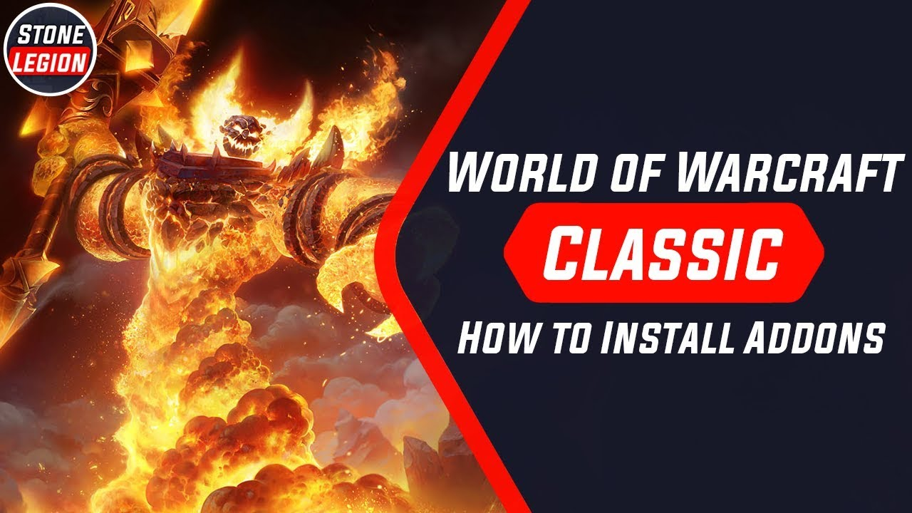 WoW Classic - How to Install Addons With Curse / Twitch & Manually!