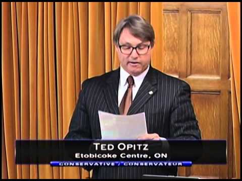 MP Ted Opitz - Question to the Minister of National Defence About Operation Impact