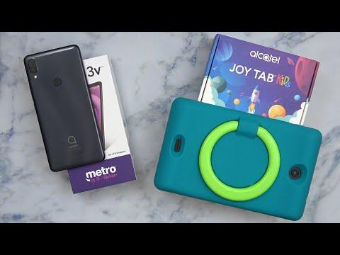 Alcatel Joy Tab Kids For TMobile / The Alcatel 3V 2019 For Metro By T Mobile (Hands On)