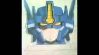 Dibujando y Pintando a Optimus Prime. Transformers Armada