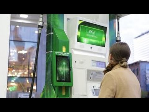 Meet Miles, BP's high-tech gas pump