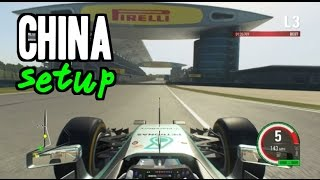 F1 2015 China Hotlap + Setup (1:34.936)