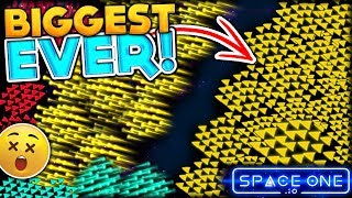 BRAND NEW IO GAME ⭐ BECOMING THE BIGGEST FLEET ARMY IN THE GAME | SPACEONE.IO FUNNY MOMENTS