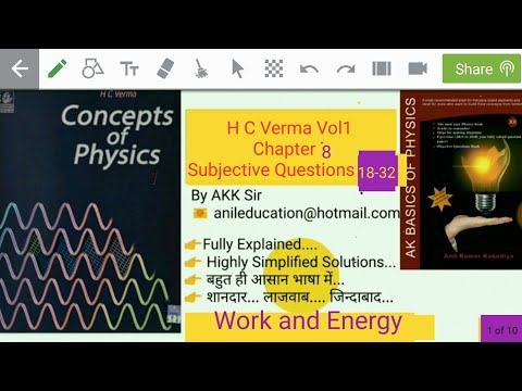 H C Verma Vol1 Chapter 8 Subjective Questions 18-32
