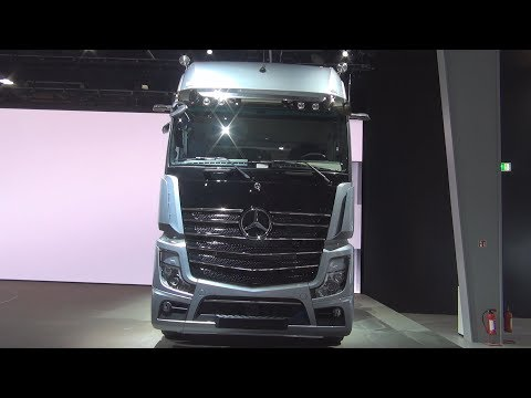 Mercedes-Benz Actros 1863 Edition 1 One Of 400 (2019) Exterior And Interior