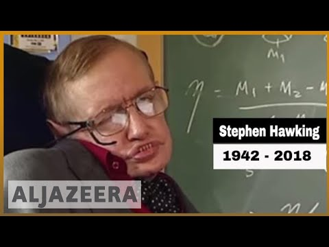 Stephen Hawking dies at age 76 | Al Jazeera English