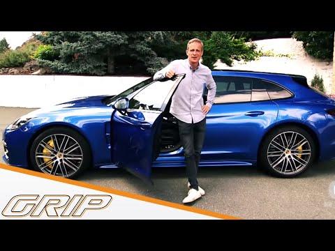 Der neue Porsche Panamera Sport Turismo - GRIP - Folge 411 - RTL2