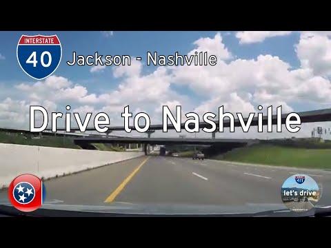 Interstate 40 - Jackson - Nashville - Tennessee |  Drive America's Highways 🚙