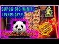 ★Super Big Wins!!!★Dragon Link Panda Magic★ 10¢ w $12.50 Bet Free Games Lightning Link Features!