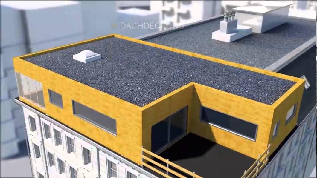 Top Dachaufstockung - schnell zu mehr Wohnraum LH41