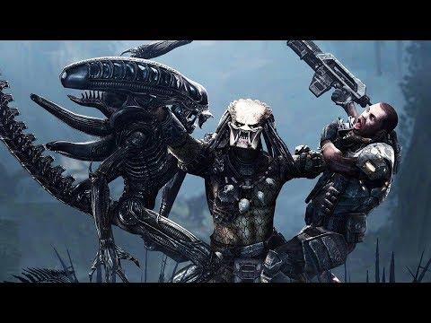 Aliens Vs Predator All Cutscenes (All Stories) Game Movie 1080p 60FPS HD