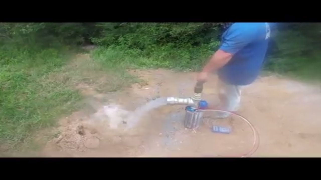 Industrial/Commercial Irrigation Well Pump Installation Producing 100 GPM