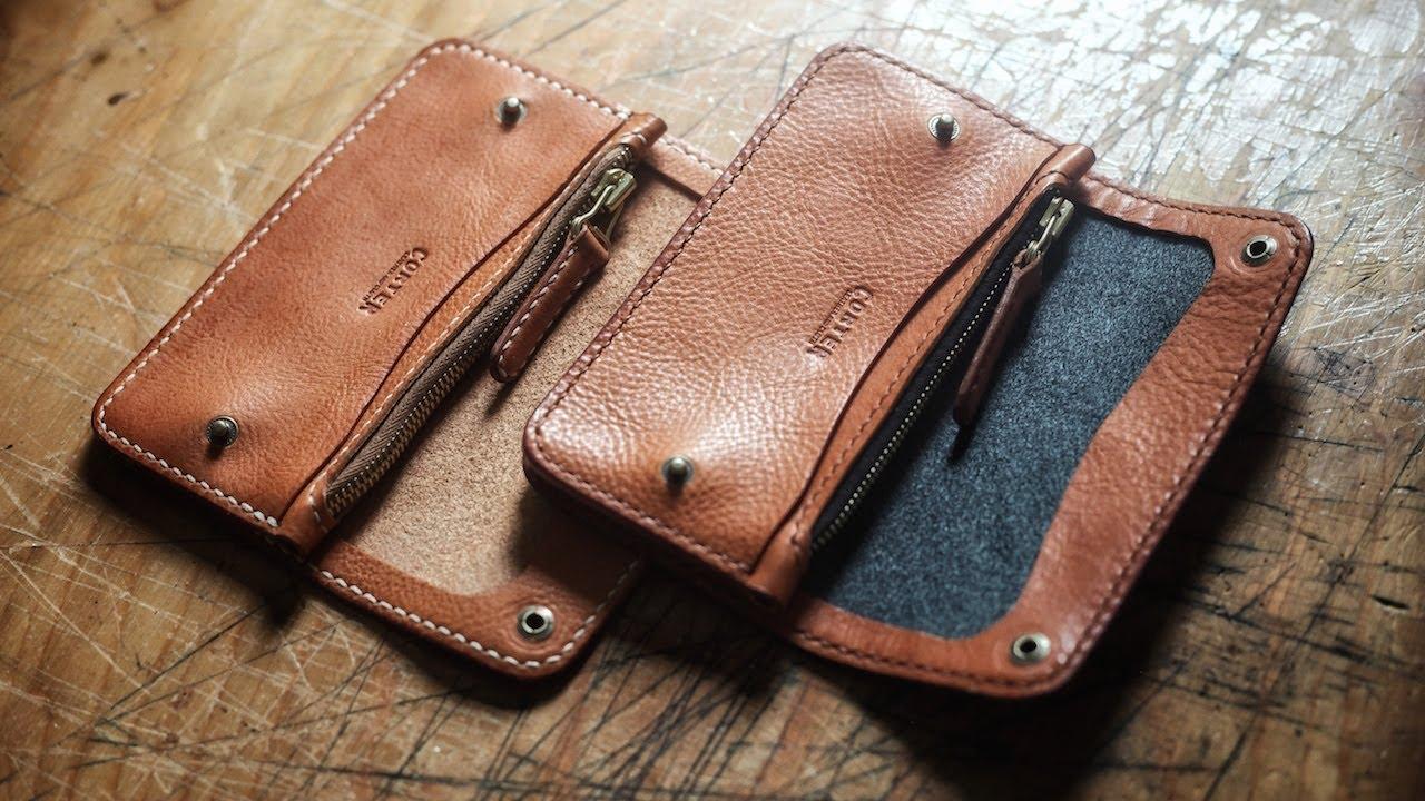 Making Fancy Leather Trucker Wallets