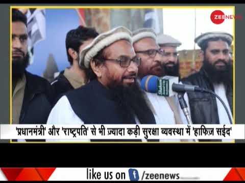 Z+ security for Hafiz Saeed by Pakistan Mp3