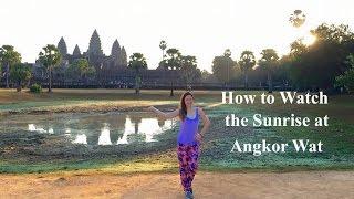 Angkor Wat Sunrise - Cambodia Travel Vlog // Stuart Brazell's Bucket List