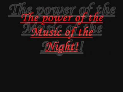 (Phantom of the Opera) -  Music of the Night Lyrics