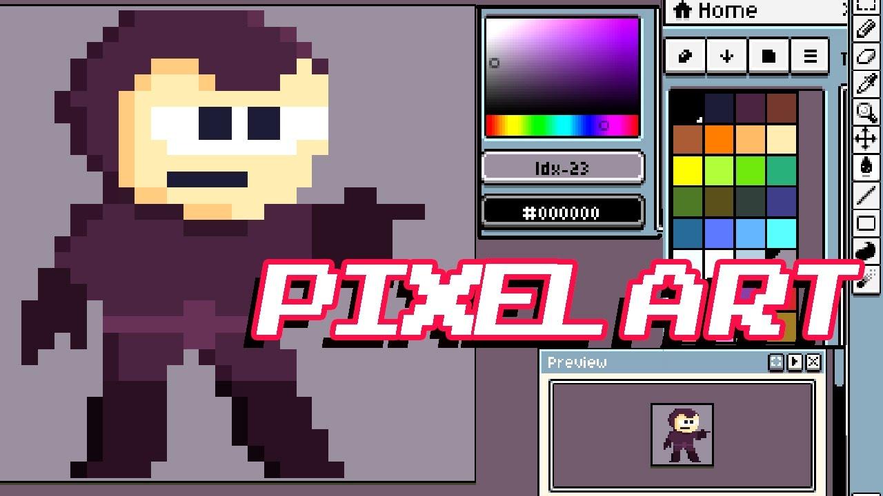 Best Pixel Art Programs Tutorial Youtube