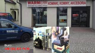WARMERR kominki Bielsko – Biała, kominy, piece, kominki kaflowe, sprzedaż kominków śląskie