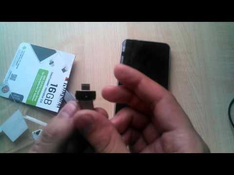 Распаковка Kingston DataTraveler microDuo 16GB