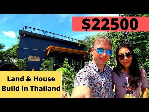 Cheap Land & House Build in Thailand