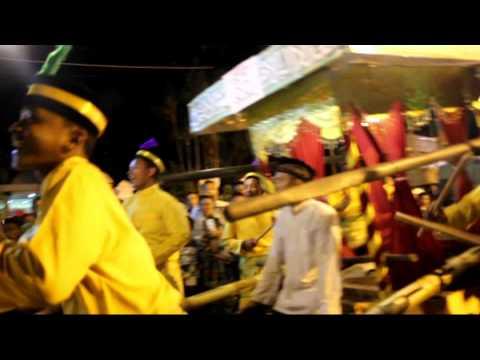 Festival Arak-arakan sahur 2015 Kuala Tungkal Jambi (W2Hc)