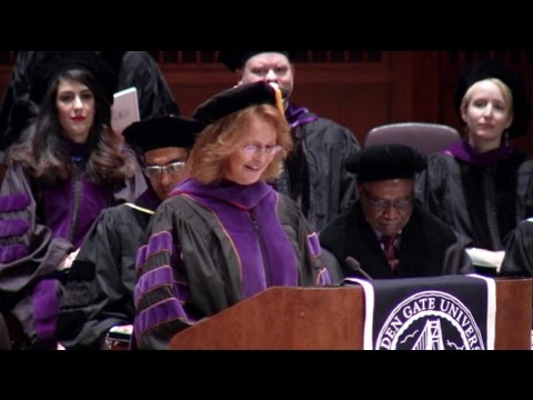Golden Gate University School of Law Commencement 2015