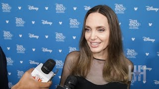 Angelina Jolie Talks 'Maleficent 2' And Playing Thena In Marvel's 'Eternals'