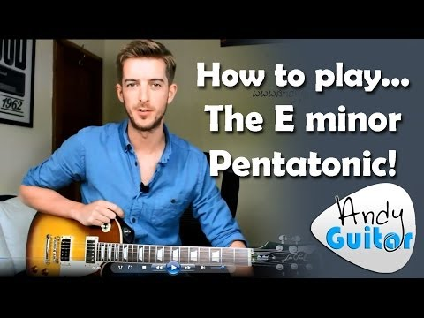 The FIRST SCALE you should learn on guitar PLUS TEN RIFFS!