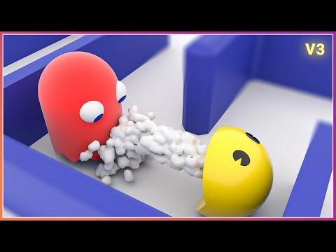 PACMAN VS GHOSTS [glitches] V3