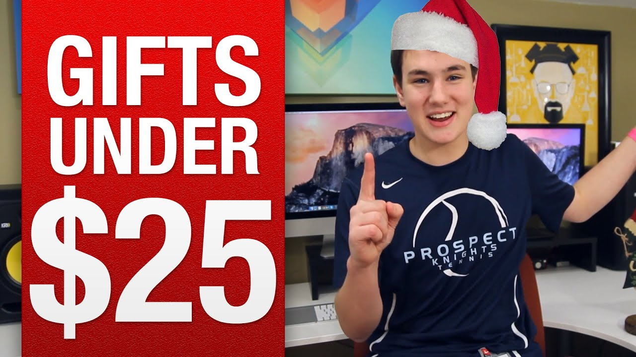 Best Gifts Under 25 best holiday tech under $25 - youtube