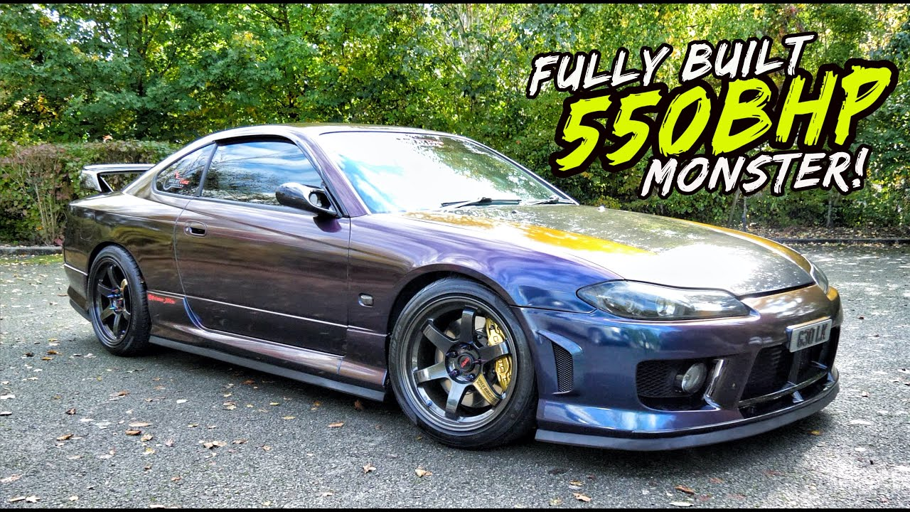 Download THIS FULLY BUILT 550BHP NISSAN SILVIA S15 IS A TOTAL MONSTER!