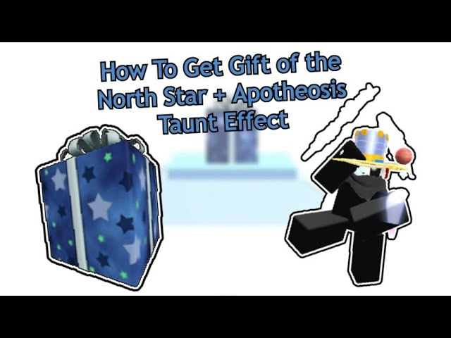 Rlbxware Christmas 2021 Rblxware How To Get Gift Of The North Star Apotheosis Taunt Effect Youtube