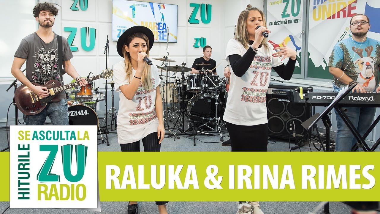 Raluka si Irina Rimes - Doi ochi caprui (Bambi) (Live la Marea Unire ZU)