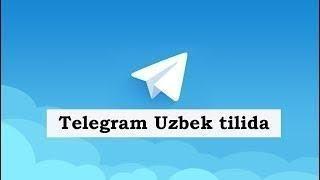 Uzbekcha telegram
