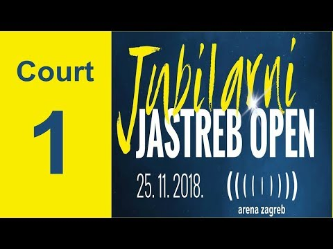20th JASTREB OPEN - CUP OF THE AMBASSADOR OF THE REPUBLIC OF KOREA - COURT 1