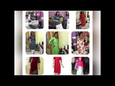 New kurti design in 2018 . Kaursall Indian women