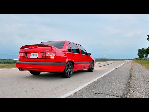 New IPD Turboback Exhaust on the Volvo 850R