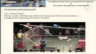L'enseignement des sciences industrielles de l'Ingénieur à l'international