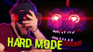 Five Nights At Freddy's VR HARD MODE (FNAF VR)